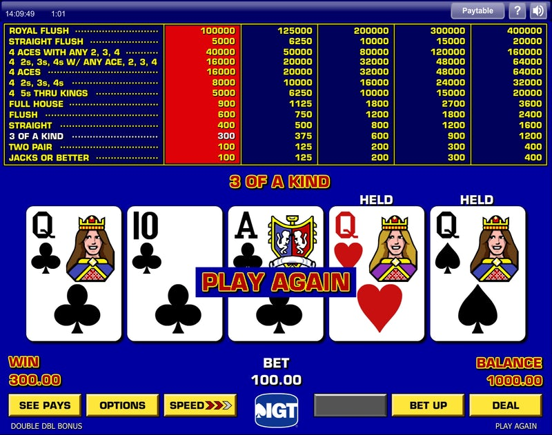 Video Poker Edge: What Every Casino Does Not Want You to Know